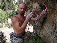 Rock Climbing Photo: gear puller...