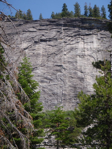 The Line, East Face, Lover's Leap