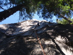 Rock Climbing Photo: The Groove, pitch one