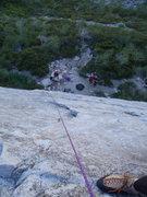 Rock Climbing Photo: Bear's Reach, pitch one