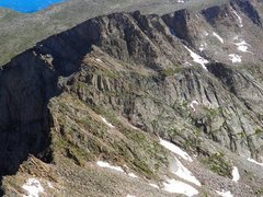 Rock Climbing Photo: The Sawtooth, from Mt. Beirstadt.