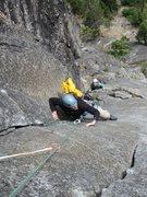 Rock Climbing Photo: Doug and Kristen following P2