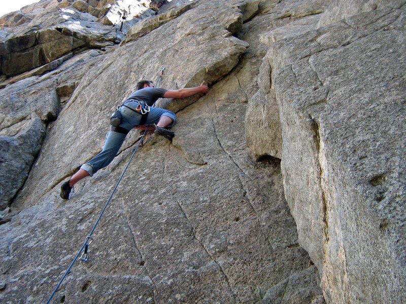 Rock Climbing Photo: Cascades Crag, BoCan