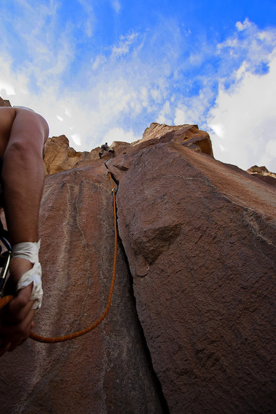 Rock Climbing Photo: Such a good climb, I wish there were more like it ...