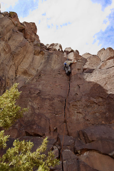 Rock Climbing Photo: Quality jams on a beautiful NM day.