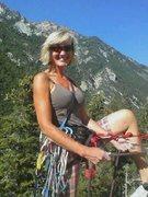 Rock Climbing Photo: Leading Pentapitch