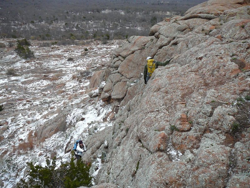 Rock Climbing Photo: Definitely a year round destination! We had a grea...