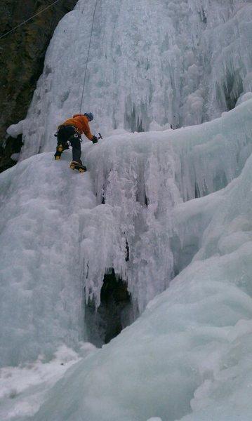 Rock Climbing Photo: Overall Falls