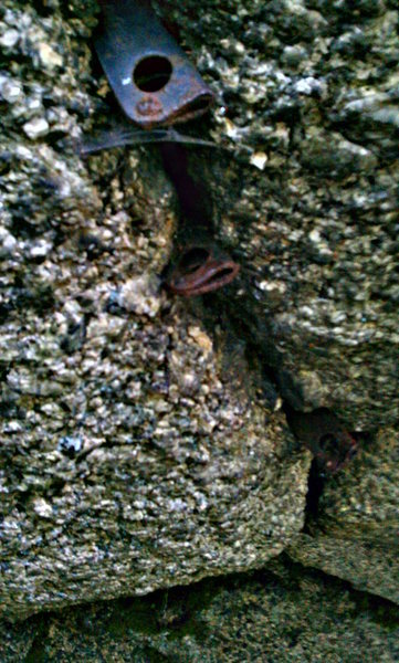 Rock Climbing Photo: Original Anchor atop,Cassin selection,anyone know ...