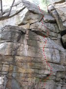 Rock Climbing Photo: Monkey Face.  The face is the business; the wide c...