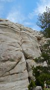 Rock Climbing Photo: A view of the route.