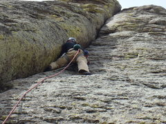 Rock Climbing Photo: El Cracko Diablo, Devils Tower