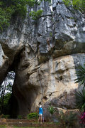 Rock Climbing Photo: This is a great lime stone in NE Thailand that is ...