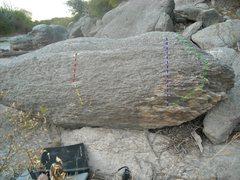 Rock Climbing Photo: GREEN: Teenage Drama