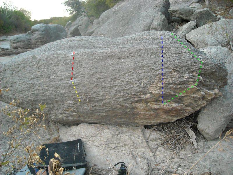 Rock Climbing Photo: YELLOW: Yard Sit