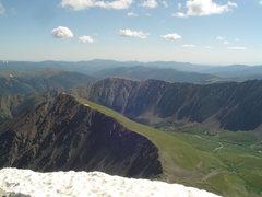 Rock Climbing Photo: Torreys 8/5/11 Summit veiw
