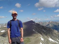 Rock Climbing Photo: Grays 8/5/11 Kelso Ridge and Torreys