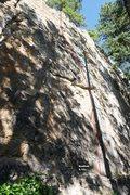 Rock Climbing Photo: Bad Fish 5.10c, Topo