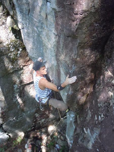 Rock Climbing Photo: White Arete