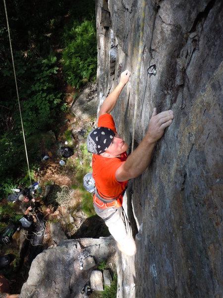 Rock Climbing Photo: Harvest Moon