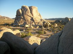"Rock Climbing Photo: Hidden Valley Campground from ""The Old Woman&..."