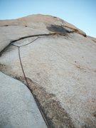 "Rock Climbing Photo: Joshua Tree NP. ""Toe Jam"""