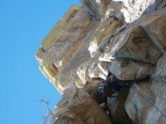 Rock Climbing Photo: Slippery when wet