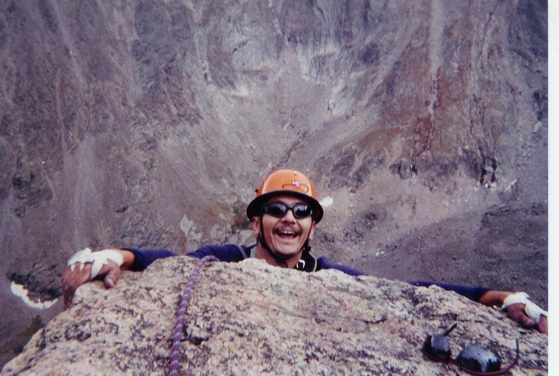 Rock Climbing Photo: Top of Petite Grepon