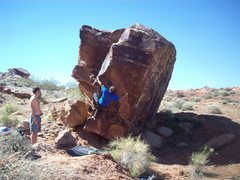 Rock Climbing Photo: Fall of Man