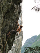 Rock Climbing Photo: Enjoying the horn of plenty