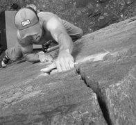 Rock Climbing Photo: zig zag