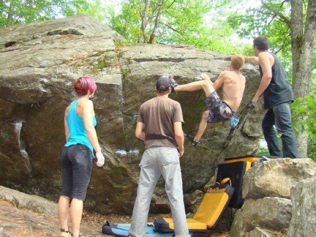 Rock Climbing Photo: quincy market