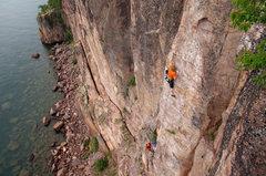 Rock Climbing Photo: Kryzer brothers on Swizzlestick Legs. 8 August '11...