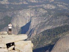 Rock Climbing Photo: Top of Half Dome