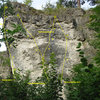 Topo of the right side of Breitenstein