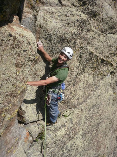 Jay's last climb before the accident....