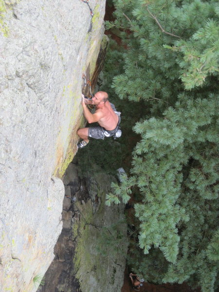 Rock Climbing Photo: Mr Mix.