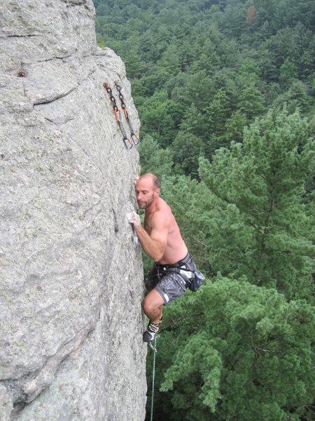 Rock Climbing Photo: Mr Mix.