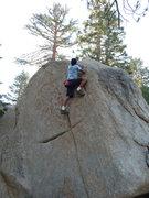 Rock Climbing Photo: Bedroom Smackdown, Tramway
