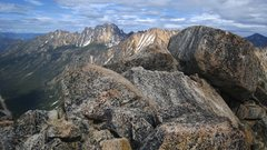 Rock Climbing Photo: View from the summit of SEWS