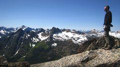 Rock Climbing Photo: NEWS summit view