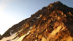 Rock Climbing Photo: The view of the Upper North Ridge from near Goat P...
