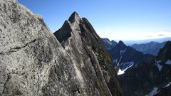 Rock Climbing Photo: Knife edge ridge
