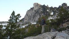 Rock Climbing Photo: Prusik Peak - South Side