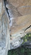 Rock Climbing Photo: The Rostrum's 10d roof