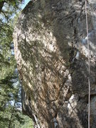 Rock Climbing Photo: Abstract Plain.  Heads up and left off of Crystal ...