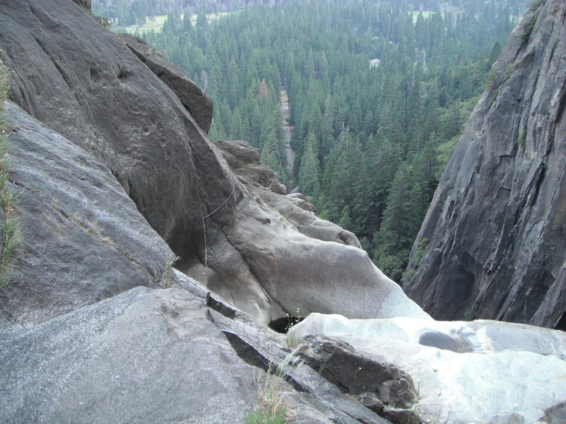 Rock Climbing Photo: Lower Yosemite Falls pools