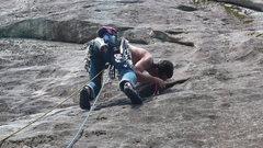 Rock Climbing Photo: Appalachian Runt. Panthertown Valley. NC.