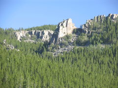Rock Climbing Photo: Pika Pinnacle of the Little Bear Gulch Rocks as se...