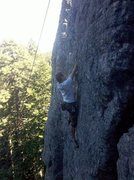 Rock Climbing Photo: Bulo Point, This is Nuke the Gay Whales for Jesus,...
